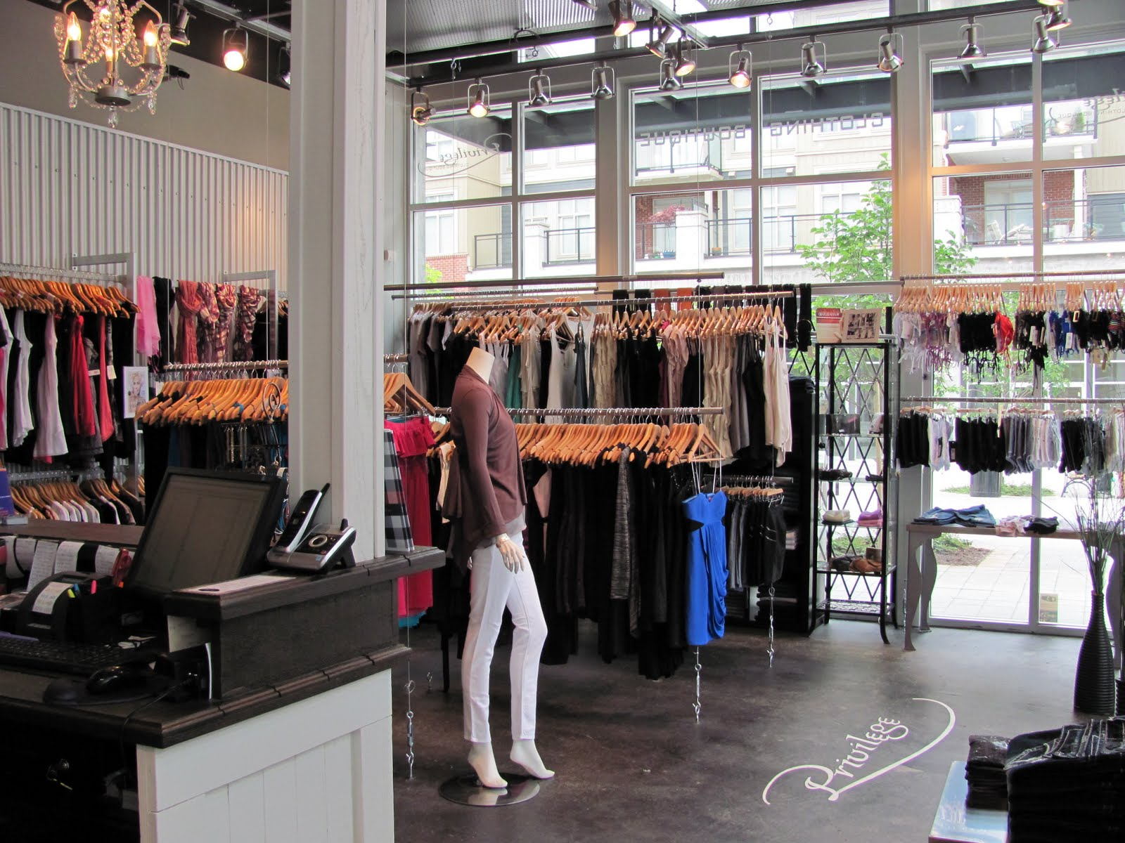 Clothing store boutique
